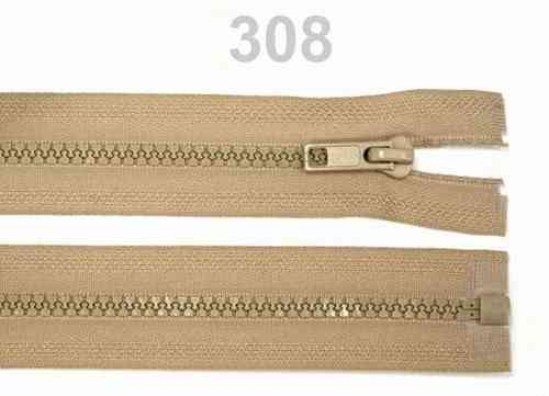 100 fermetures detachable beige 80 cm